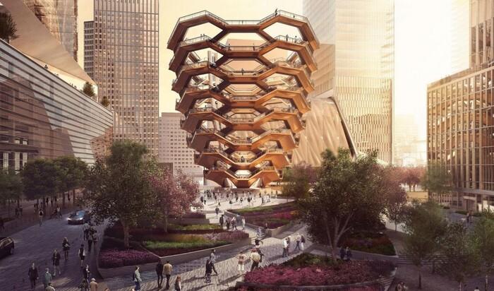 Будущая лондонская достопримечательность – претворенная в жизнь работа Эшера Маурица