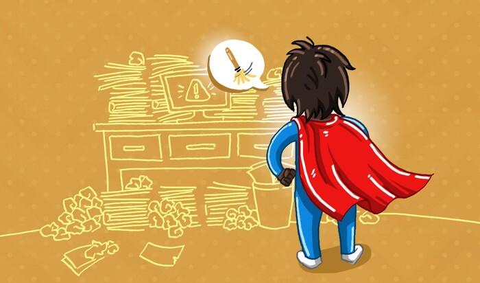 8 вещей, которые делают профессиональные организаторы перед тем, как идти спать