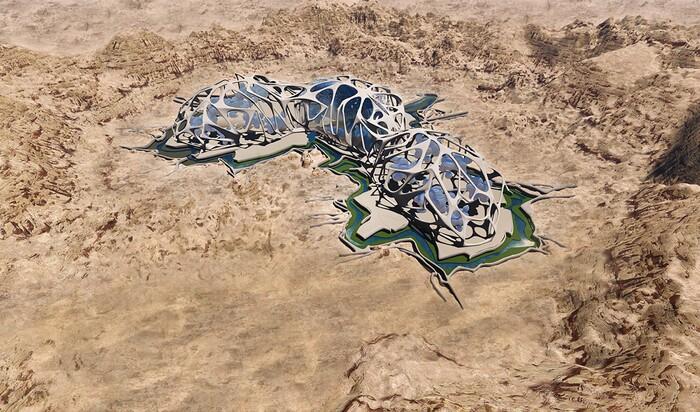 Прототип колонии Марса будет построен в пустыне Мохаве
