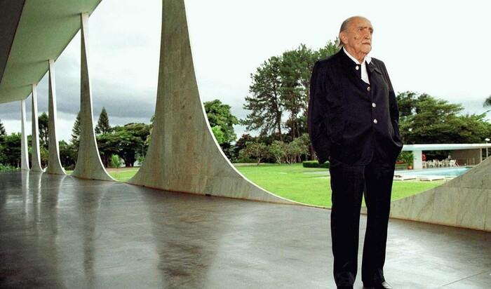 Оскар Нимейер - самый известный бразильский архитектор