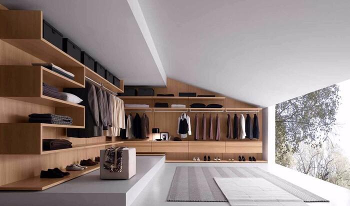 Превращаем мансардный этаж в гардеробную. Советы по благоустройству