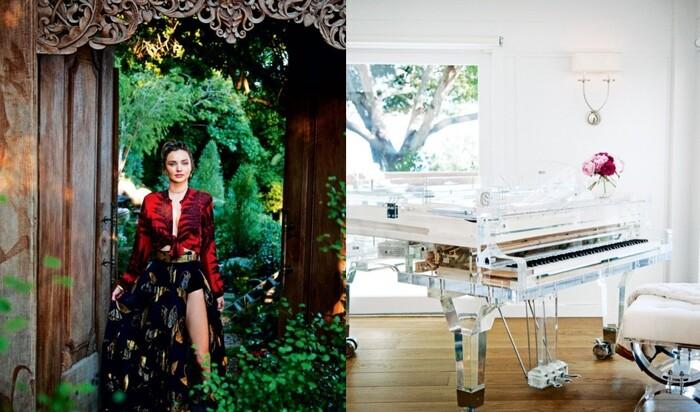 Экологичный, но безумно красивый дом Миранды Керр в Малибу