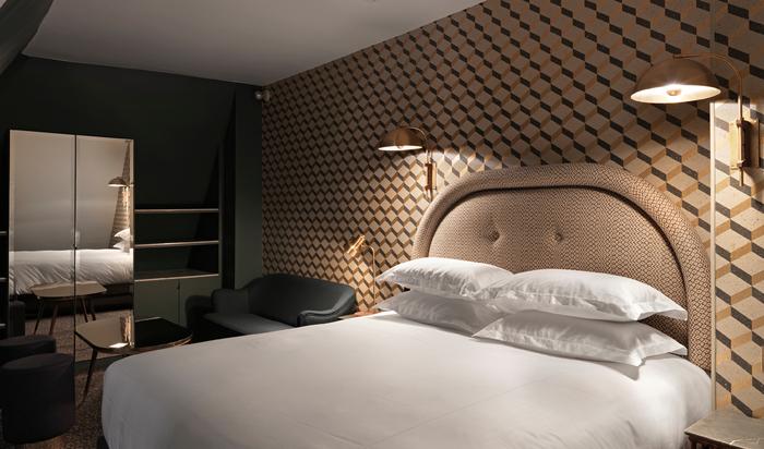 Отель Гранд Пигаль (Le Grand Pigalle Hotel). Лаконичный шик по-парижски