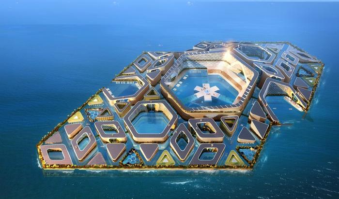 Планы Китая по постройке города на воде: потрясающе, футуристично, тяжело осуществимо
