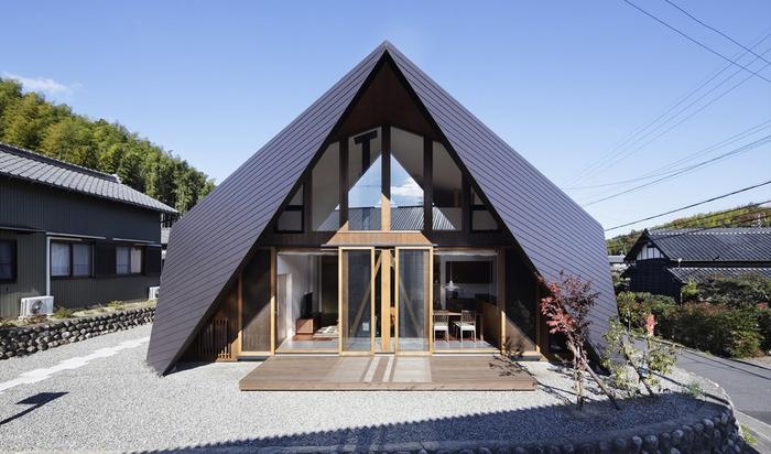 Японские жилые дома: сочетание креатива и недолговечности