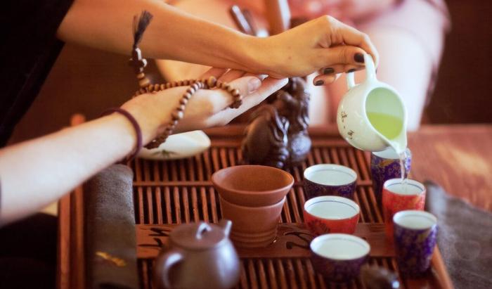 Обязательные атрибуты традиционной японской чайной церемонии