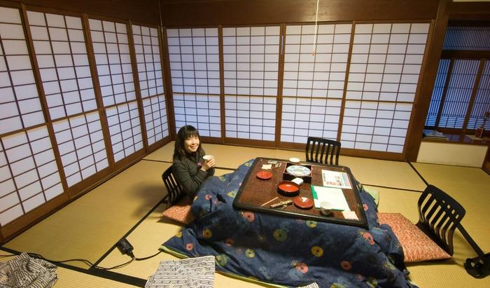 Котацу — традиционный японский стол с подогревом