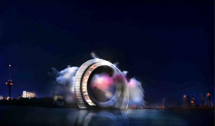 Голландский проект Windwheel или гигантсткое ветряное колесо