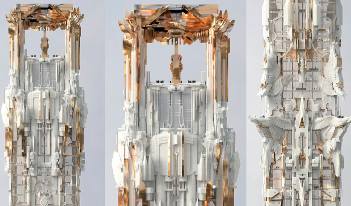Необычный небоскреб в честь героини «Игры престолов»