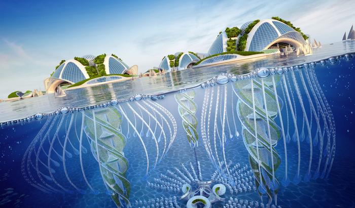 Может ли человек жить под водой? Этот проект говорит — давно пора!