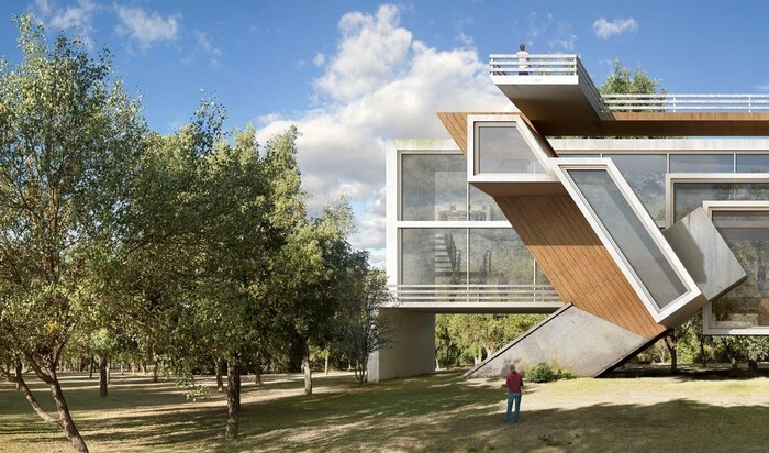 Дионисио Гонсалес: архитектор, которого вдохновляют хаос и катастрофы