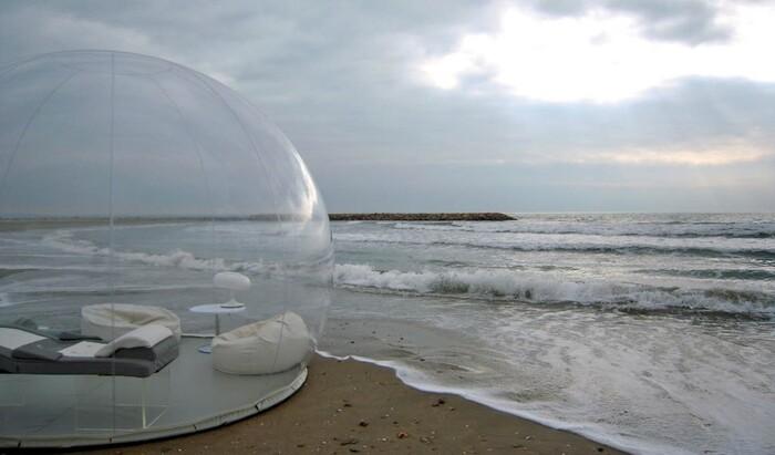 Под открытым небом: умный шатёр-пузырь позволяет наслаждаться природой во всей её красе