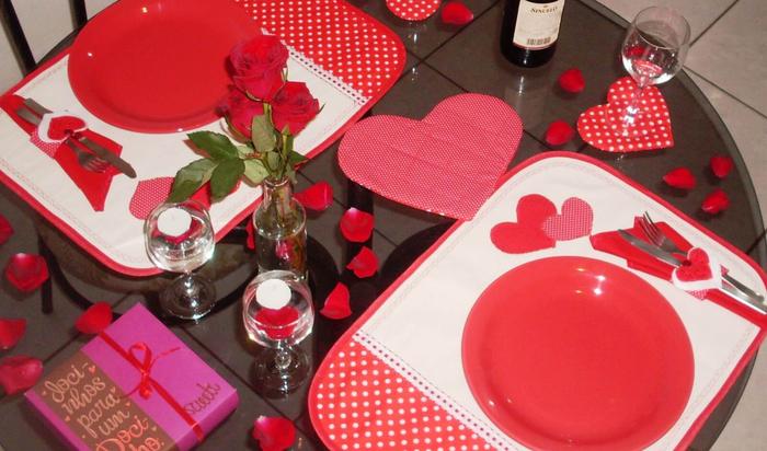 Готовимся к романтическому ужину в День Святого Валентина