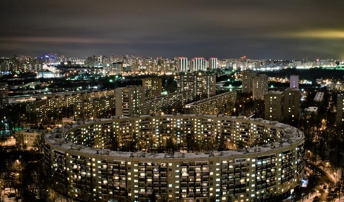 Круглые дома в Москве: геометрия по-столичному