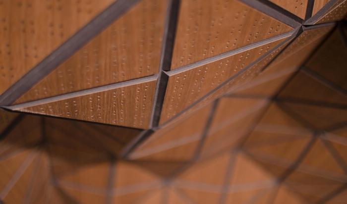 Wood-Skin, итальянский гибкий материал из древесины