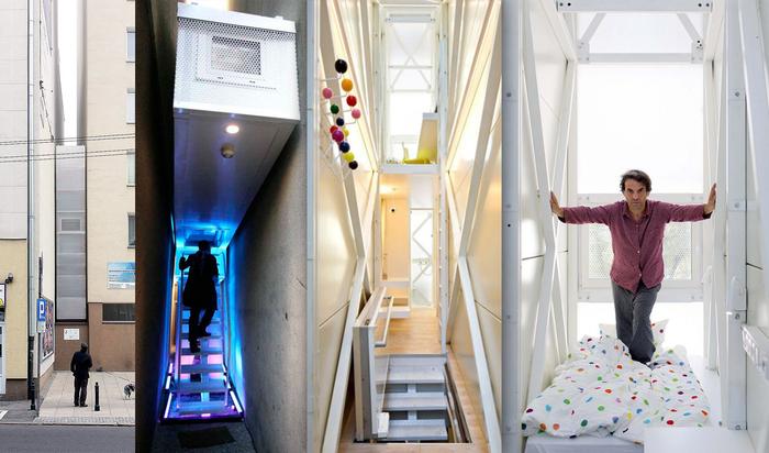 Как развить у себя клаустрофобию? Самый «худой» дом в мире от Якуба Щенского