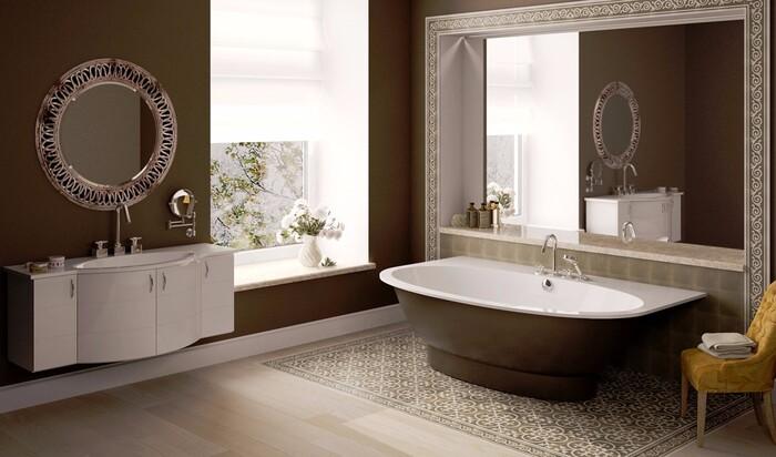 Декоративные идеи в ванной комнате