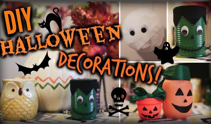 Своими руками: как недорого украсить дом к Хэллоуину