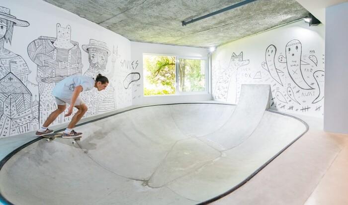 Самая необычная комната для подростка: мечта скейтбордиста