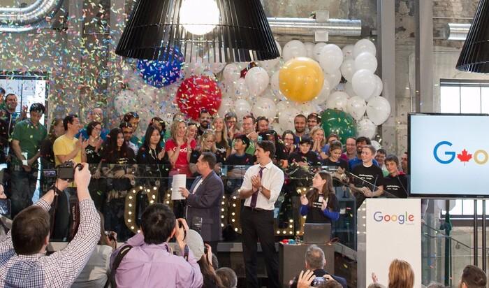 Офис от Гугла в Монреале: на работу как на праздник