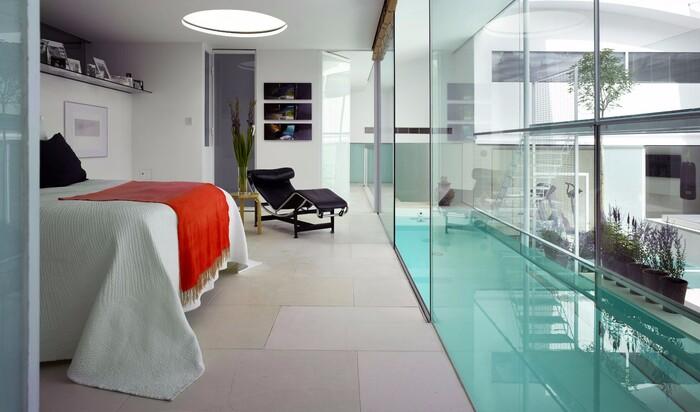 Мир стекла — современное внедрение материала в стены дома
