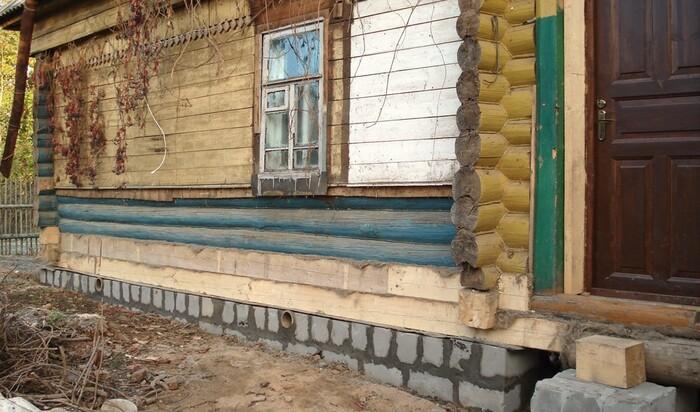 Укрепление фундамента частного дома: способы для ленточного типа