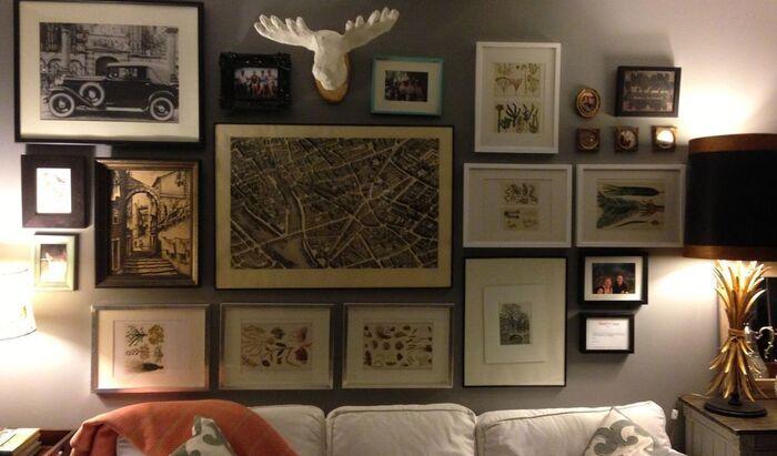 Картины в интерьере квартиры: как размещать произведения искусства со вкусом