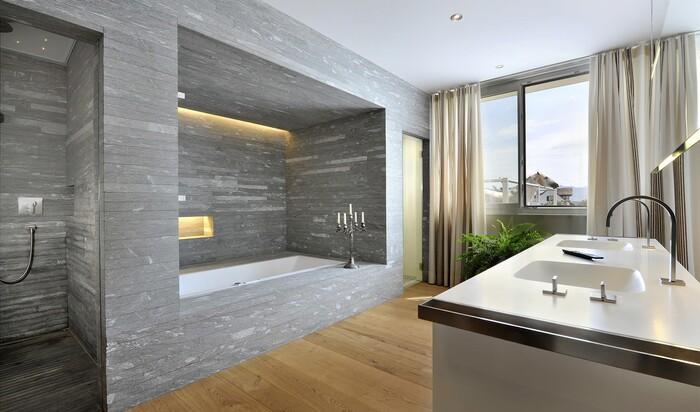 Простота хуже воровства? Стиль минимализм в ванной комнате