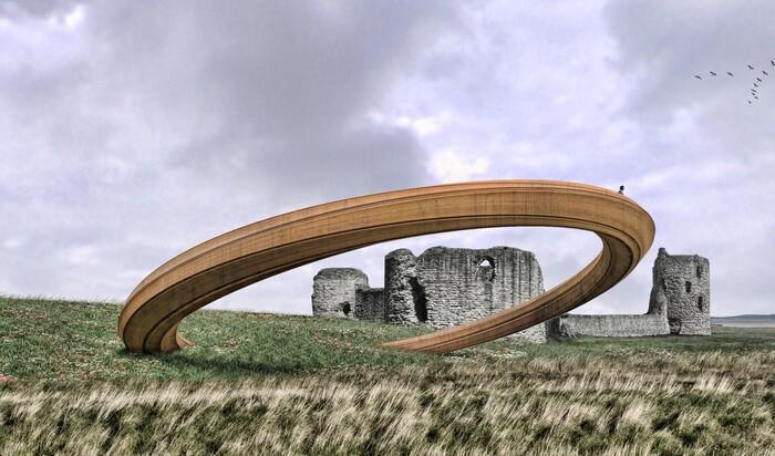 Уэльская скульптура «Железного кольца» вызвала невероятный общественный резонанс