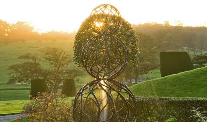 Скульптор Джайлс Рейнер: «Моя стихия — вода». Бассейны и фонтаны с чудесными скульптурами.