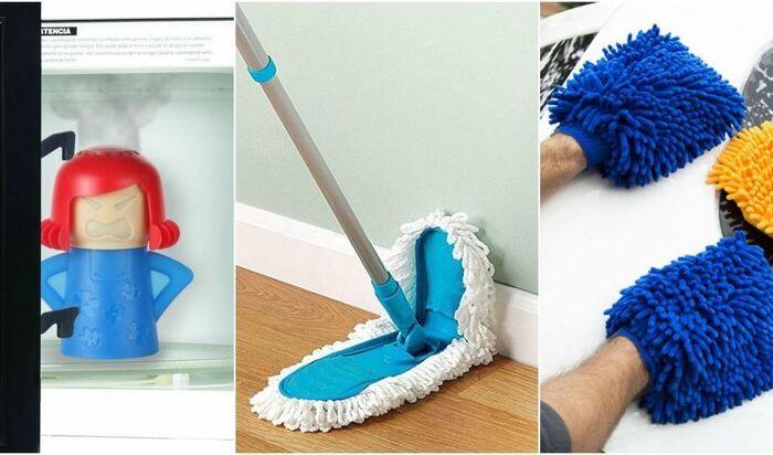 10 полезных товаров для уборки, которые можно купить в Интернете