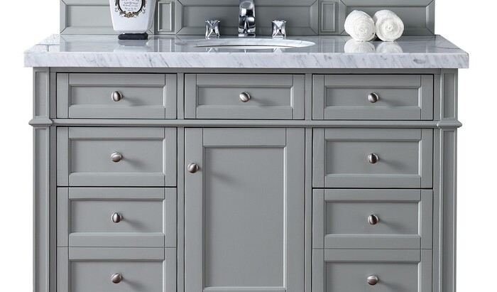 Ванная комната в серых тонах: идеи для создания элегантного дизайна