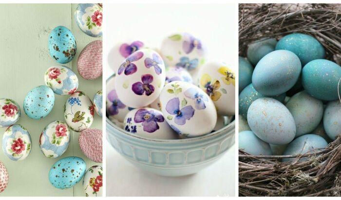 Небанальные идеи: как покрасить яйца на Пасху своими руками