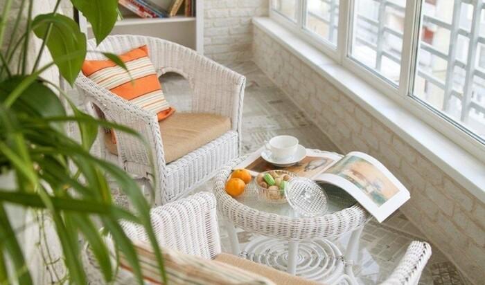 Балкон в стиле прованс: особенности дизайна и отделки
