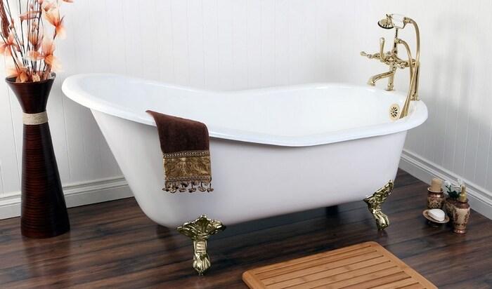 ШОК: ванны на ножках угробят вашу ванную комнату