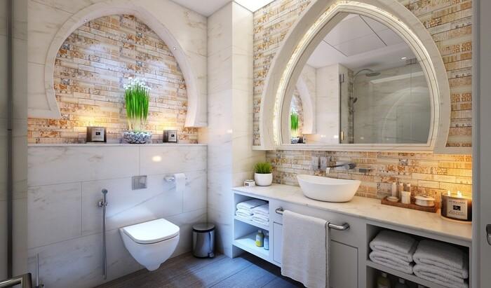Плитка для ванной под кирпич: 10 идей для дизайна