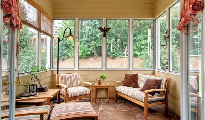 Как превратить веранду в любимое место в доме?