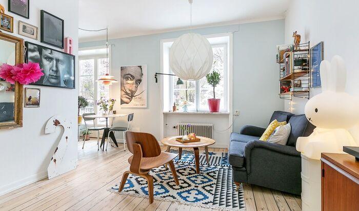 Дизайн интерьера однокомнатной квартиры-студии: идеи для вдохновения