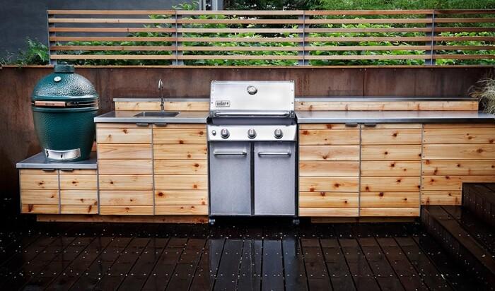 6 причин организовать кухню на открытом воздухе