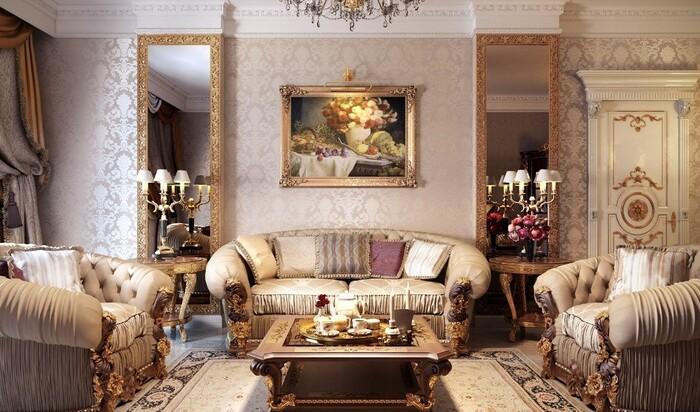 Официальный стиль в интерьере — беспроигрышный вариант для элегантного дома