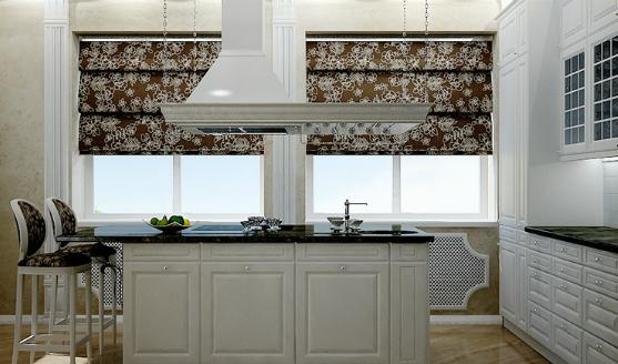 Как обыграть окно на кухне: нестандартные способы и решения
