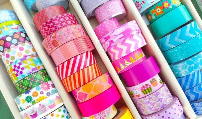 Washi Tape: 10 способов украсить пространство при помощи декоративного скотча