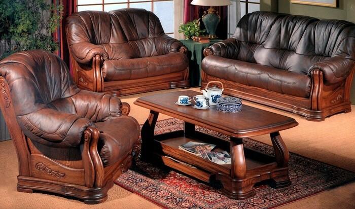 Кожаная обивка на мебель: гид по материалам