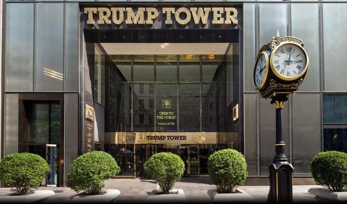 Башня Трампа, которую хотят посетить даже кандидаты в президенты