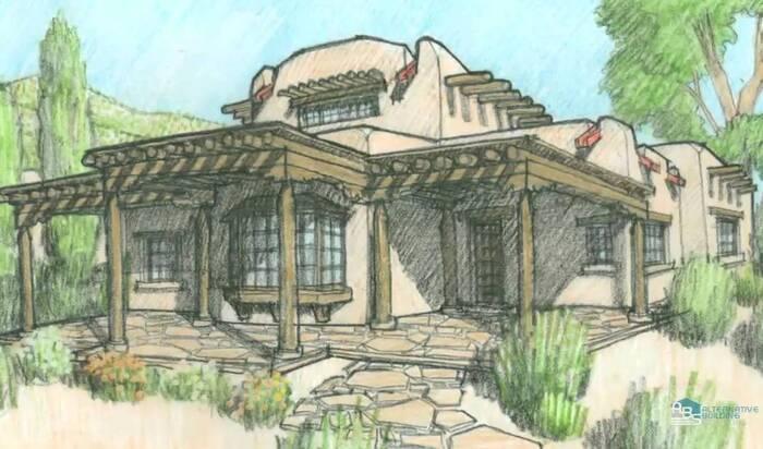 История альтернативного строительства домов