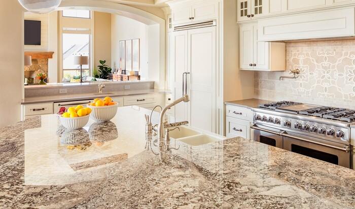 Кухонная столешница из бетона или натуральный гранит — что лучше?