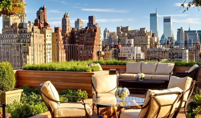 Озеленение крыш частных домов в городах