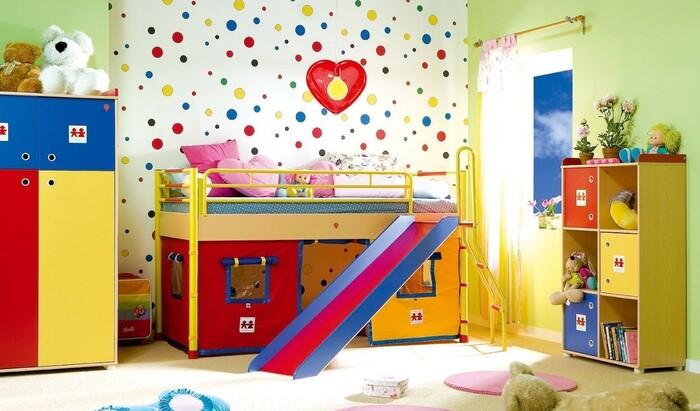 Детская комната — пространство для креатива в доме