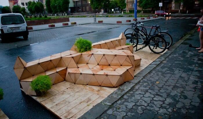 Парклеты: гениальные изобретения для городского ландшафта