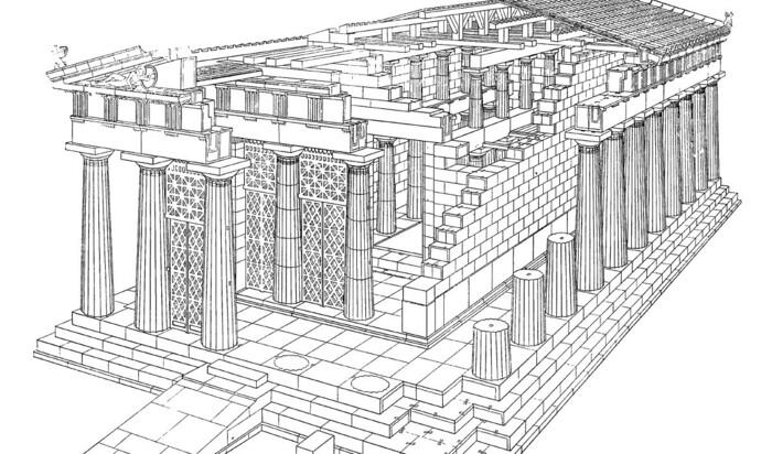 Самые известные исторические храмы в Древней Греции